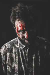 man horror male creepy